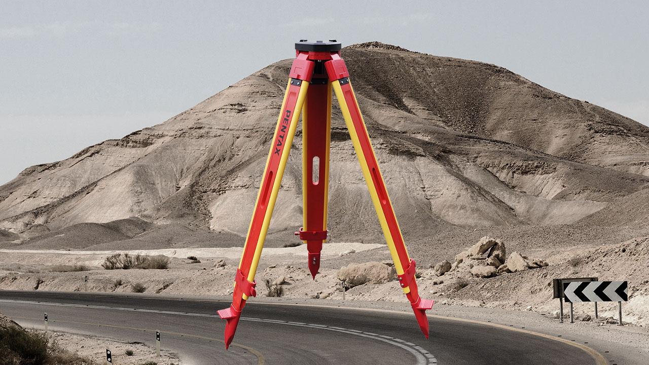 Tripod Pentax Wood C-TS2 surveying accessories