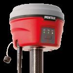GNSS receiver G6 Pentax lightweight compact RTK operation TILT Sensor