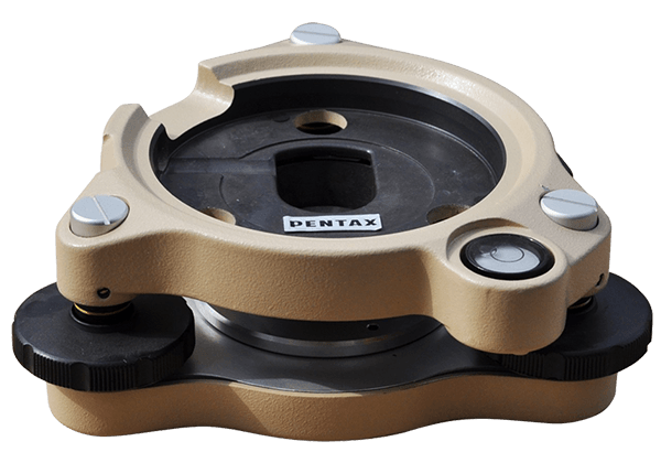 Tribrach Pentax C-PW12 for mounting Total Station and Tribrach Adapter Surveying accessories